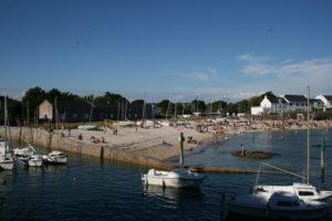 Port de Lérat l'été